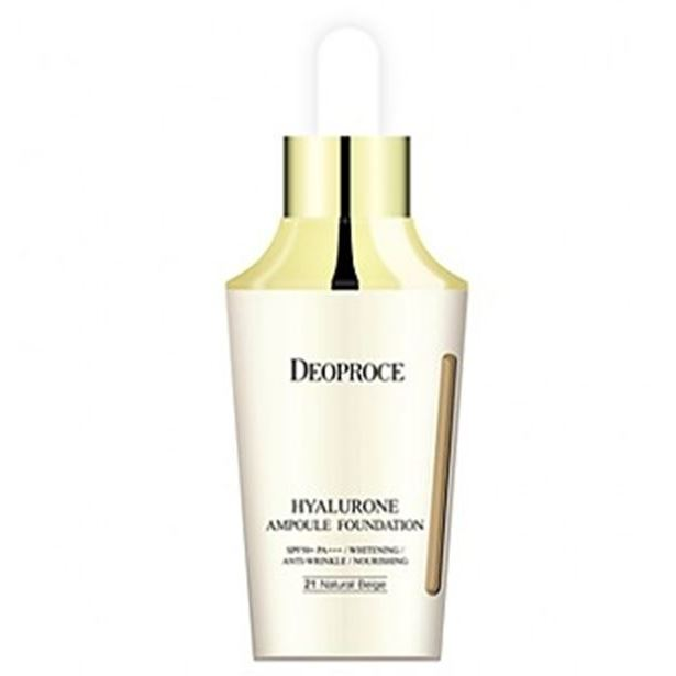 Тональный крем Deoproce Hyalurone Ampoule Foundation SPF 50+/ PA+++ (23) deoproce