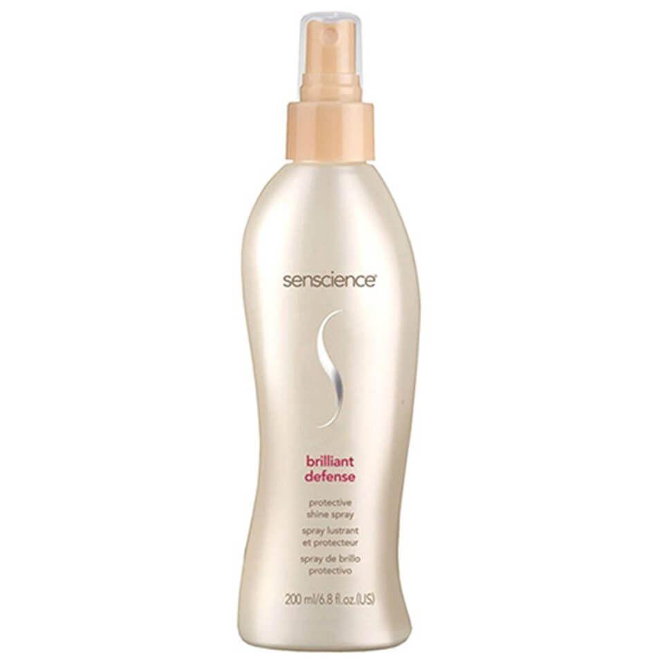 Спрей Senscience Brilliant Defense Protective Shine Spray 200 мл senscience senscience шампунь для нормальных волос shampoos and conditioners balance shampoo 42456 300 мл