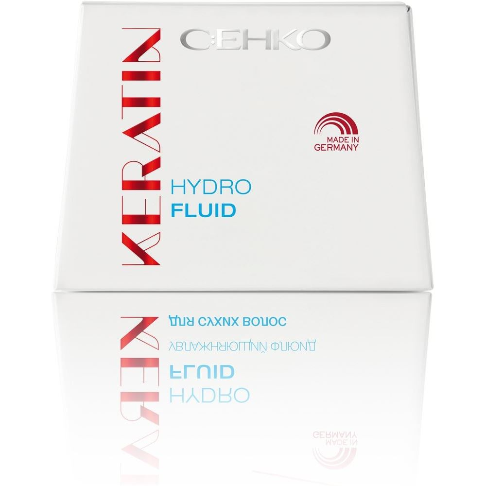 Флюид C:EHKO Keratin. Hydro Hair Fluid (7*10 мл) флюид c ehko keratin volumen hair fluid 7 10 мл