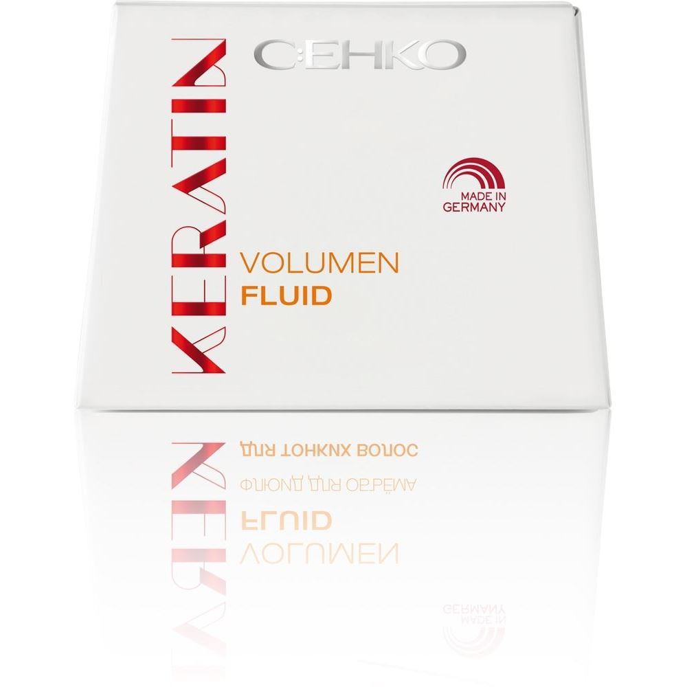 Флюид C:EHKO Keratin. Volumen Hair Fluid  (7*10 мл) c ehko keratin silver conditioner