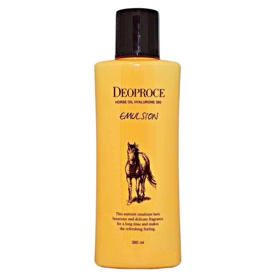 Эмульсия Deoproce Horse Oil Hyalurone Emulsion пенка deoproce horse oil hyalurone cleansing foam