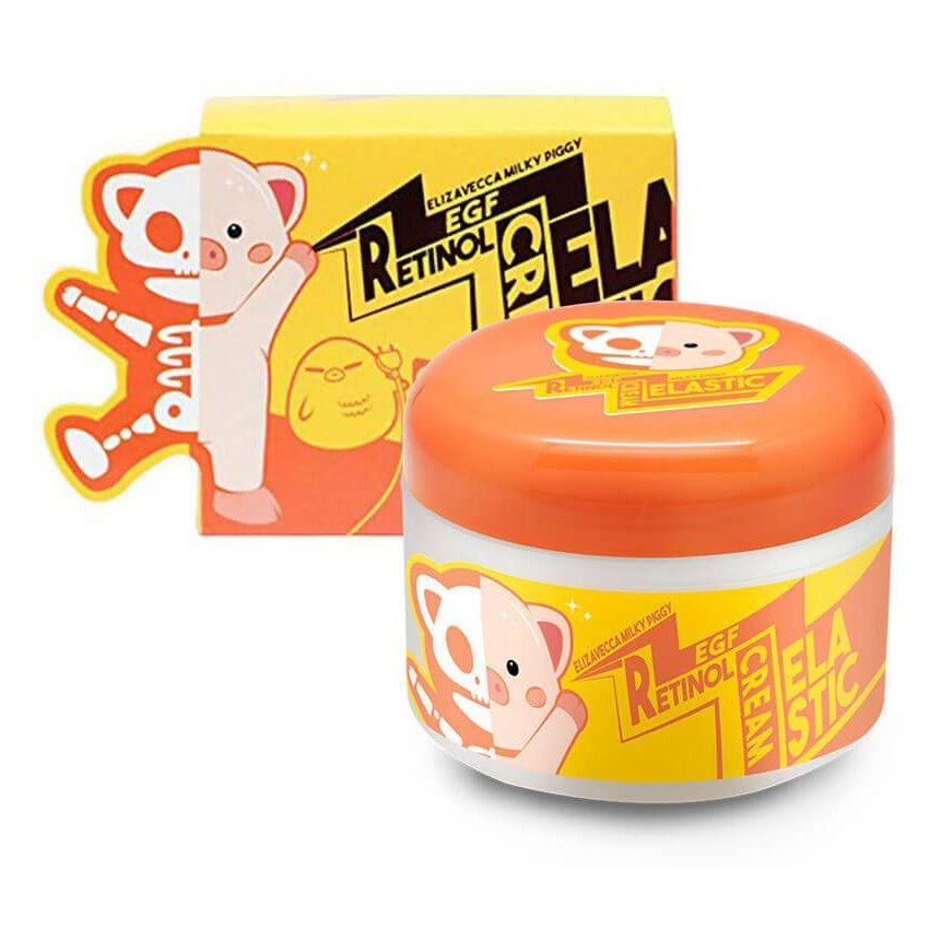 Крем Elizavecca Milky Piggy EGF Retinol Cream 100 мл антивозрастной крем для лица elizavecca milky piggy egf retinol cream