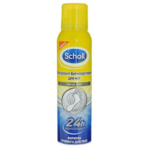Дезодорант Scholl Fresh Step Anti-Perspirant 24h Performance 150 мл