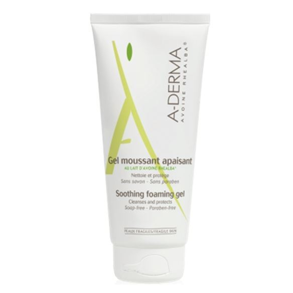Гель A-Derma Soothing Foaming Gel 200 мл