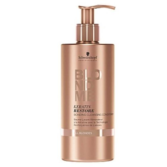 Кондиционер Schwarzkopf Professional Keratin Restore Bonding Cleansing Conditioner keratin restore blonding mask
