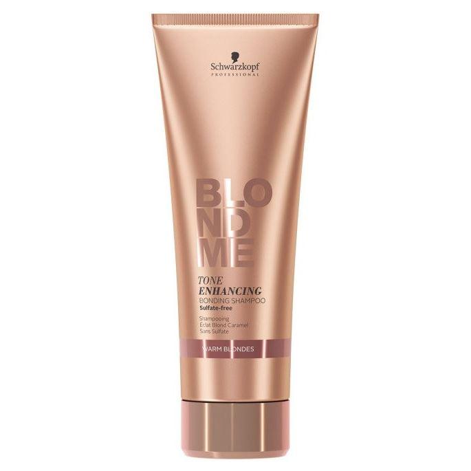 цена на Шампунь Schwarzkopf Professional Tone Enhancing Bonding Shampoo Warm Blondes