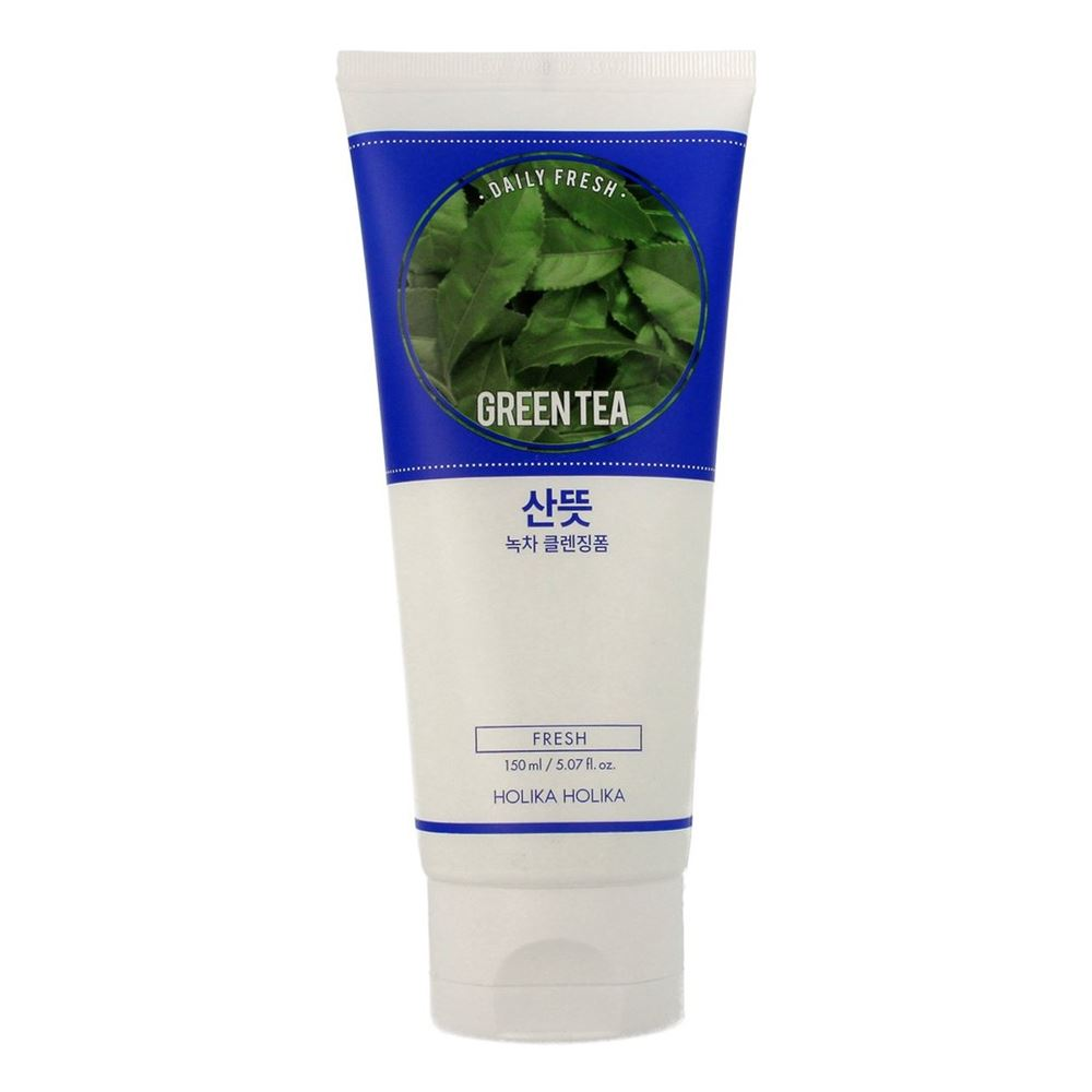 Пенка Holika Holika Daily Fresh Greentea Cleansing Foam 300 мл holika holika soda tok tok clean pore deep cleansing foam пенка глубоко очищающая для лица 150 мл