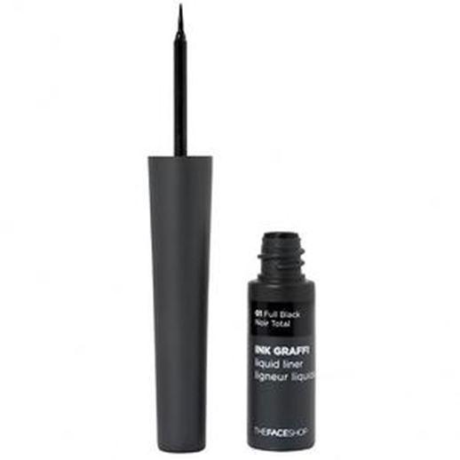 Подводка The Face Shop Ink Graffi Liquid Liner (01 Full Black)  недорого