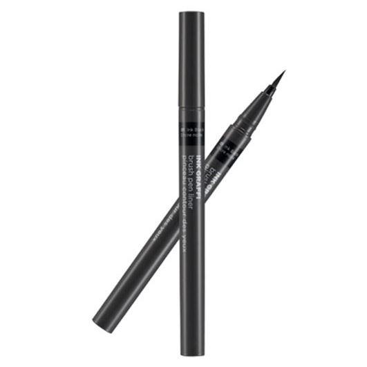 Подводка The Face Shop Ink Graffi Brush Pen Liner (02 Ink Brown) bobbi brown ink liner подводка для век blackest black