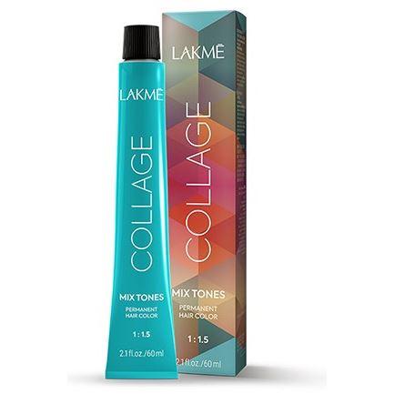Краска для волос LakMe Collage Mix Tones (0/70) краска для волос lakme collage redmotion 0 94