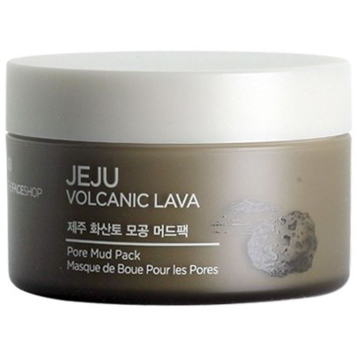 Маска The Face Shop Jeju Volcanic Lava Pore Mud Pack пенка the face shop jeju volcanic lava pore cleansing foam объем 150 мл