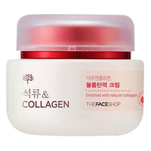 Крем The Face Shop Pomegranate & Collagen Volume Lifting Cream 100 мл цена