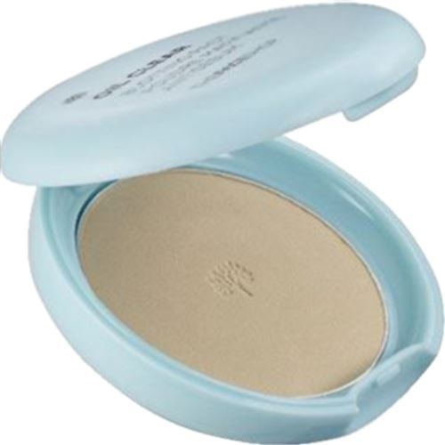 Пудра The Face Shop Oil Clear Smooth & Bright Pact SPF30 PA++ (V201 Apricot Beige)