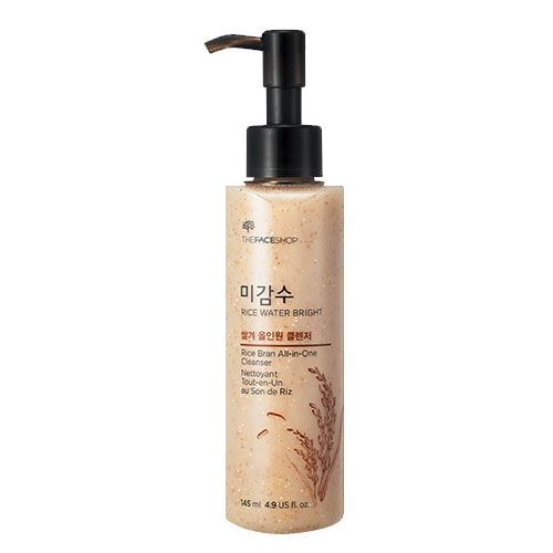 Эмульсия The Face Shop Rice Bran All-in-One Cleanser пенка the face shop rice water bright rice bran cleansing foam