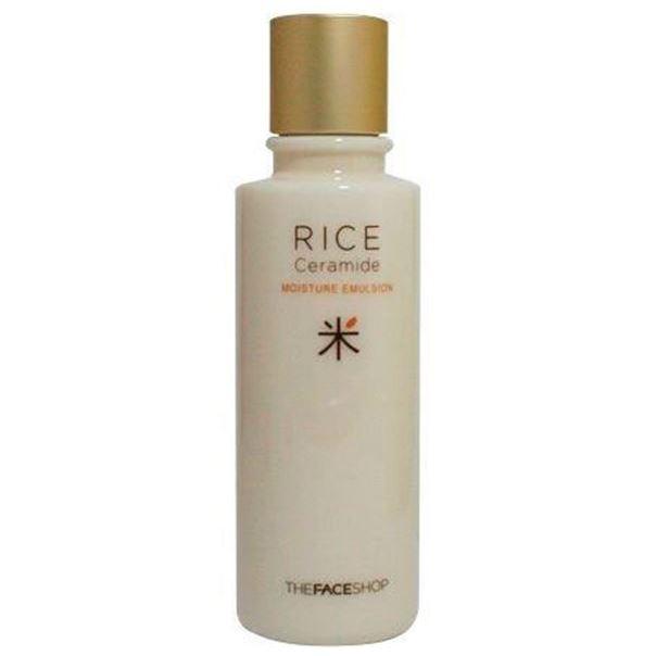 Эмульсия The Face Shop Rice & Ceramide Moisture Emulsion эмульсия the face shop olive essential emulsion