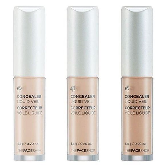 Корректоры The Face Shop Concealer Liquid Veil (N109) корректоры the face shop designing browcara mascara