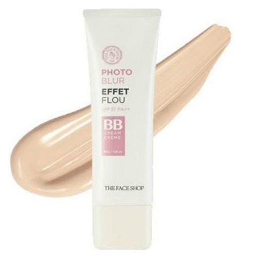 Тональный крем The Face Shop Photo Blur Effet Flou BB Cream (40 г) bb крем the face shop photo blur bb cream spf37 pa объем 40 мл