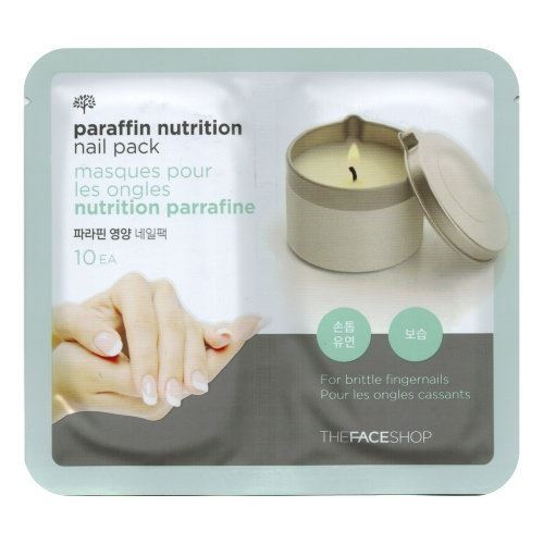 Маска The Face Shop Paraffin Nutrition Nail Pack (1 шт) гейнер geneticlab nutrition mass gainer клубника 1000 г