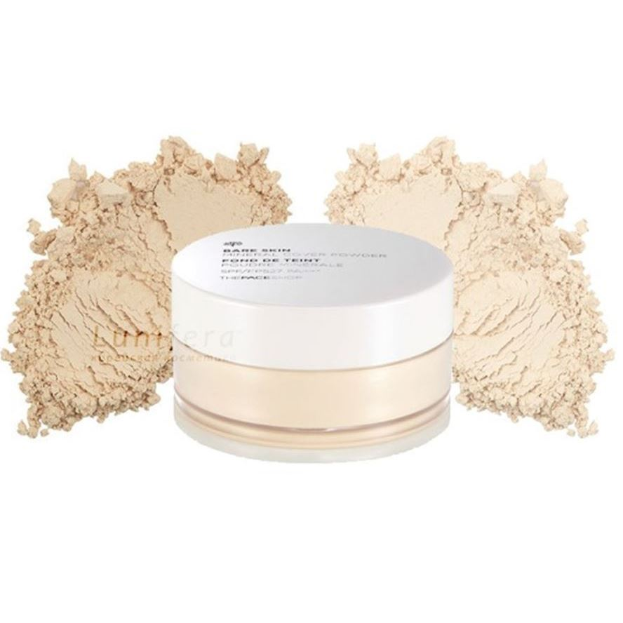 Пудра The Face Shop Bare Skin Mineral Cover Powder SPF27 PA++ (N203 Natural Beige) пудра the saem real fit powder natural beige