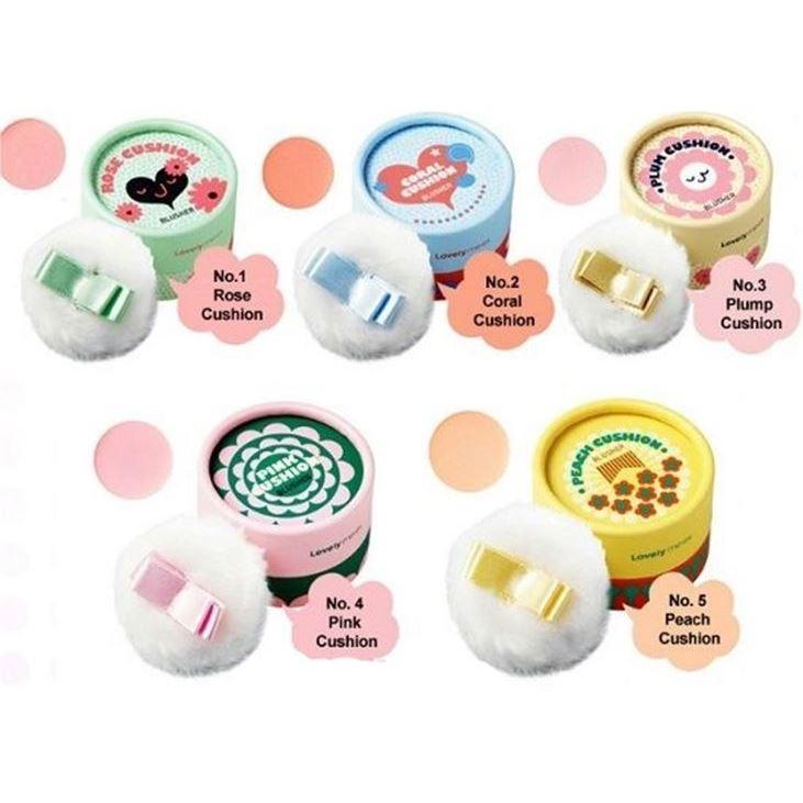 Румяна The Face Shop Lovely Me:Ex Pastel Cushion Blusher (05 Peach) missha румяна компактные the style defining blusher pk03 misty rose