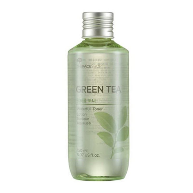 Тоник The Face Shop Green Tea Waterfull Toner пенка the face shop green tea phyto powder cleansing foam объем 170 мл