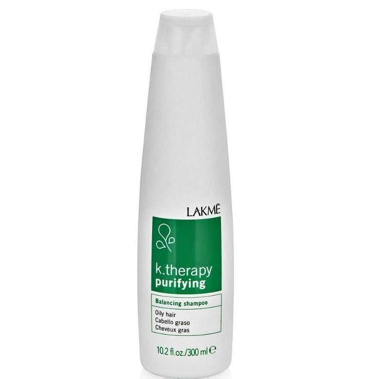 Шампунь LakMe Purifying Balancing Shampoo Oily Hair lakme шампунь успокаивающий для чувствительной кожи головы и волос lakme k therapy sensitive relaxing shampoo hair and scalp 43112 300 мл