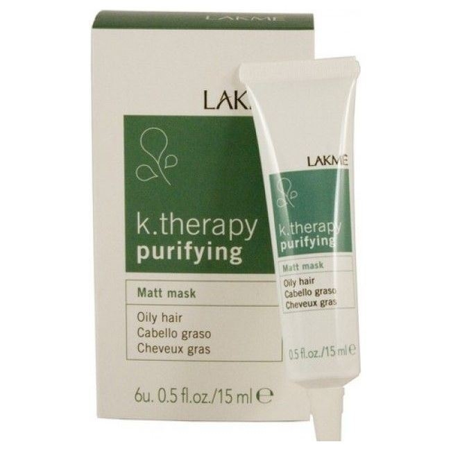 цены Маска LakMe Purifying Matt Mask Oily Hair  (6*15 мл)