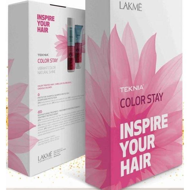 Набор LakMe Teknia Color Stay Set (Набор: шампунь, 300 мл + средство, 250 мл) блесна siweida swd dij 012 37mm 5g 3531421 0102