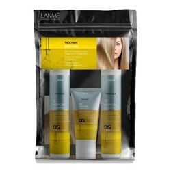 Набор LakMe Teknia Deep Care Travel Pack (Набор: шампунь, 100 мо + кондиционер, 100 мл + маска, 50 мл) набор маска lakme sun care bag
