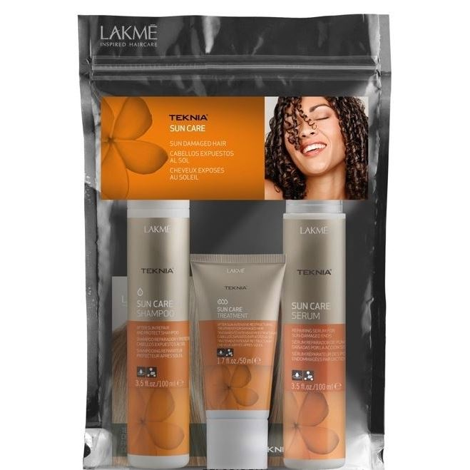 Набор: Маска LakMe Sun Care Travel Pack шампунь lakme sun care shampoo