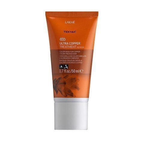 Маска LakMe Ultra Copper Treatment  50 мл lakme краска для волос 8 34 блондин золотисто медный lakme chroma chroma 78341 60 мл