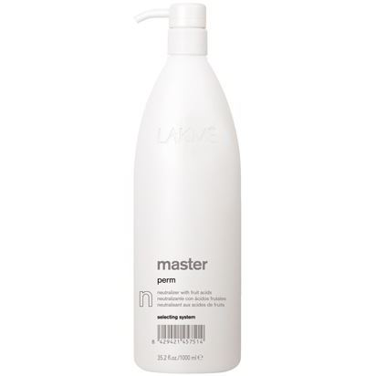 Оксидант LakMe Master Perm Selecting System. Neutralizer N 1000 мл фиксатор нейтрализатор fixity neutralizer 900 мл