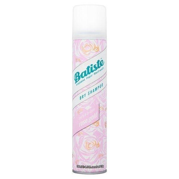 Шампунь Batiste Fragrance Dry Shampoo Rose Gold 200 мл sexy hair шампунь сухой для объема dry shampoo 50 мл