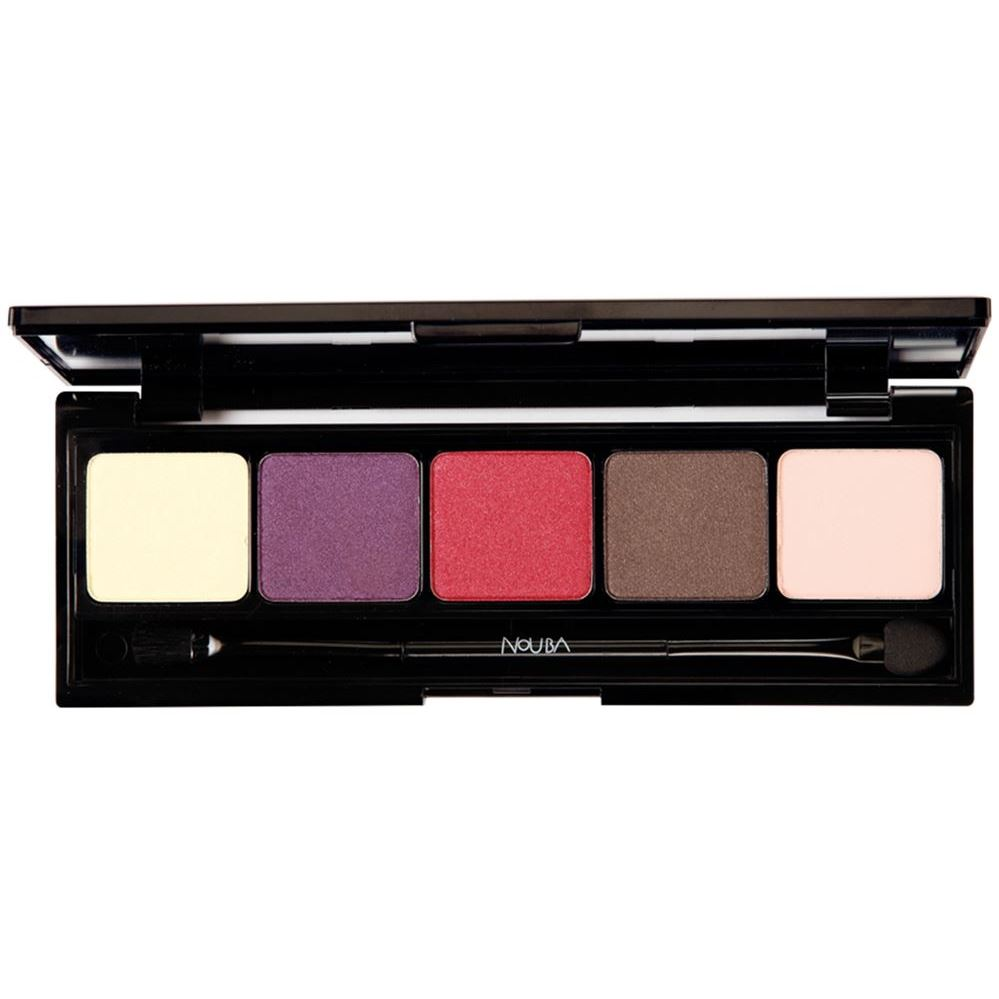 Палетки NoUBA Unconventional Eyeshadow Palette (01)