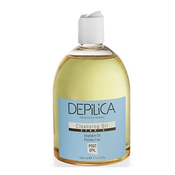 Масло Depilica Professional Cleansing Oil (Step 3) 500 мл крем depilica professional foot cream step 5 200 мл