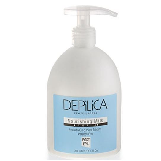 Молочко Depilica Professional Nourishing Milk (Step 4B) 500 мл крем depilica professional foot cream step 5 200 мл