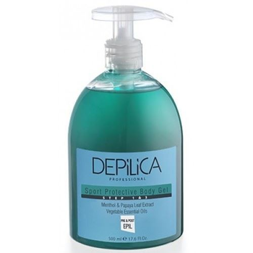 Гель Depilica Professional Sport Cleansing And Protective Body Gel (Step 1 & 3) 500 мл крем depilica professional foot cream step 5 200 мл