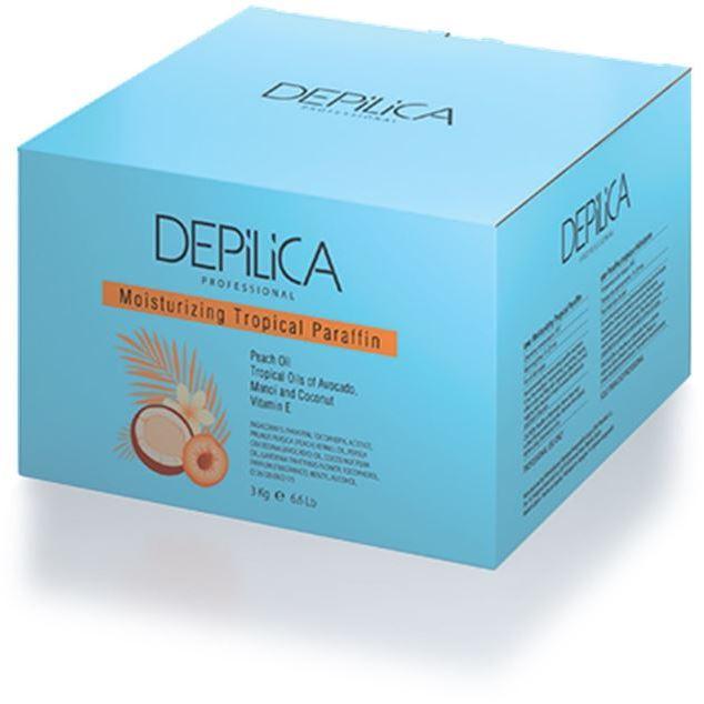 Воск Depilica Professional Moisturizing Tropical Paraffin (3 кг) недорого