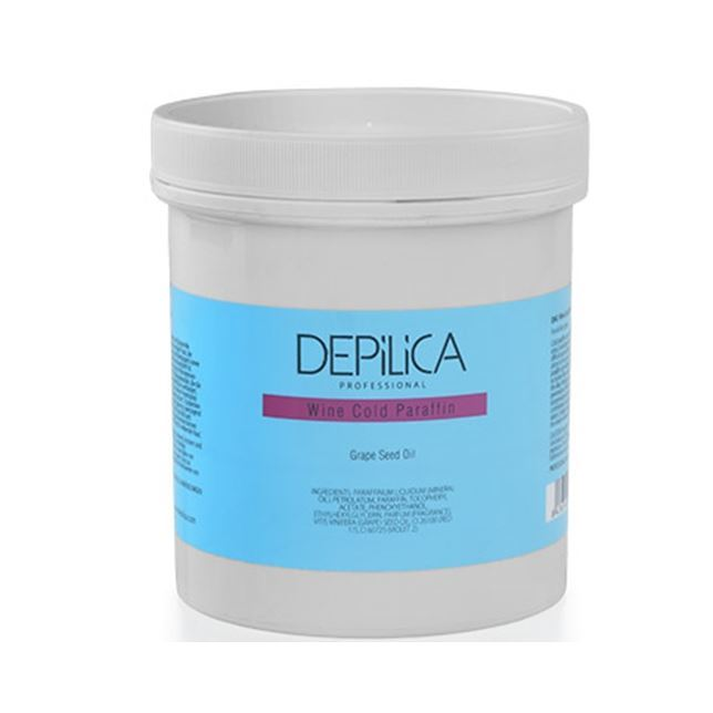 Воск Depilica Professional Wine Cold Paraffin 450 мл крем depilica professional wine hand cream step 5 200 мл