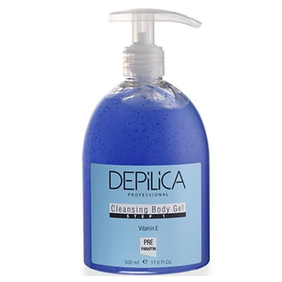 Гель Depilica Professional Cleansing Body Gel (Step 1) 500 мл крем depilica professional foot cream step 5 200 мл