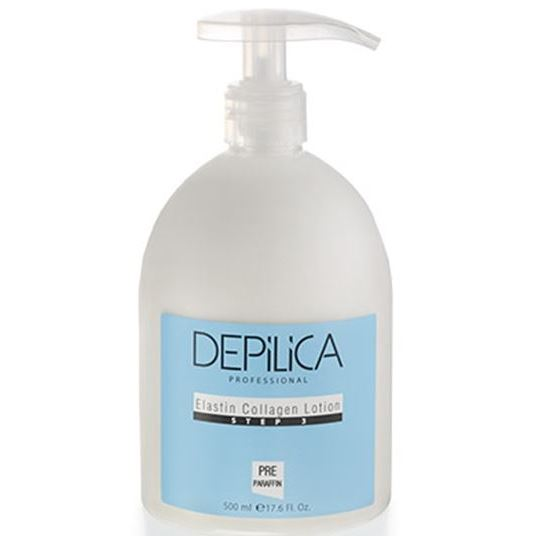 Лосьон Depilica Professional Elastin Collagen Body Lotion (Step 3) 500 мл крем depilica professional foot cream step 5 200 мл