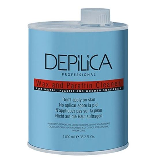 Depilica Professional Wax And Paraffin Cleaner 1000 мл крем depilica professional foot cream step 5 200 мл