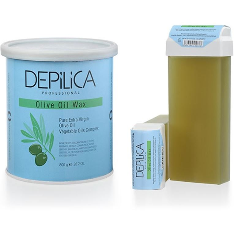 Воск Depilica Professional Olive Oil Wax 100 мл крем depilica professional wine hand cream step 5 200 мл
