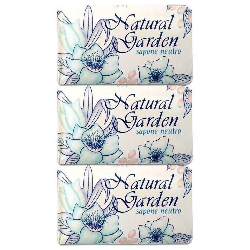 Мыло Nesti Dante Natural Garden Neutro  (3*125 г) декор lord vanity quinta mirabilia neutro 20x56