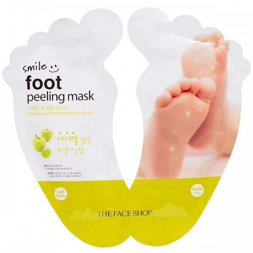 Пилинг The Face Shop Smile Foot Peeling Mask (1 шт) smile at the foot of the ladder