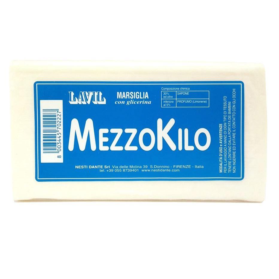 Мыло Nesti Dante Lavil Marsiglia MezzoKilo  (500 г) мыло nesti dante vero marsiglia зеленая мята 150 г