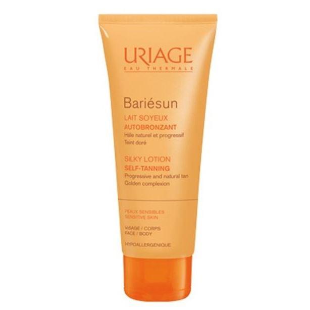 Молочко Uriage Bariesun Silky Lotion Self-Tanning 100 мл clarins self tanning мусс для искусственного загара лица и тела spf15 self tanning мусс для искусственного загара лица и тела spf15