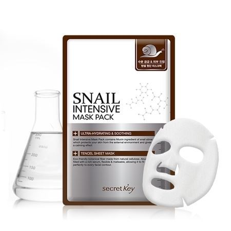 Маска Secret Key Snail Intensive Mask Pack (20 г) маска secret key starting treatment mask pack 1 шт