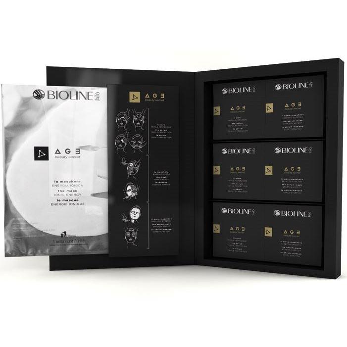 Набор Bioline JaTo Premium Kit (Набор: сыворотка, 5 х 4 мл + маска, 5 шт + маска-сыворотка, 5 х 8 мл) набор набор bioline jato travel gift кit pure