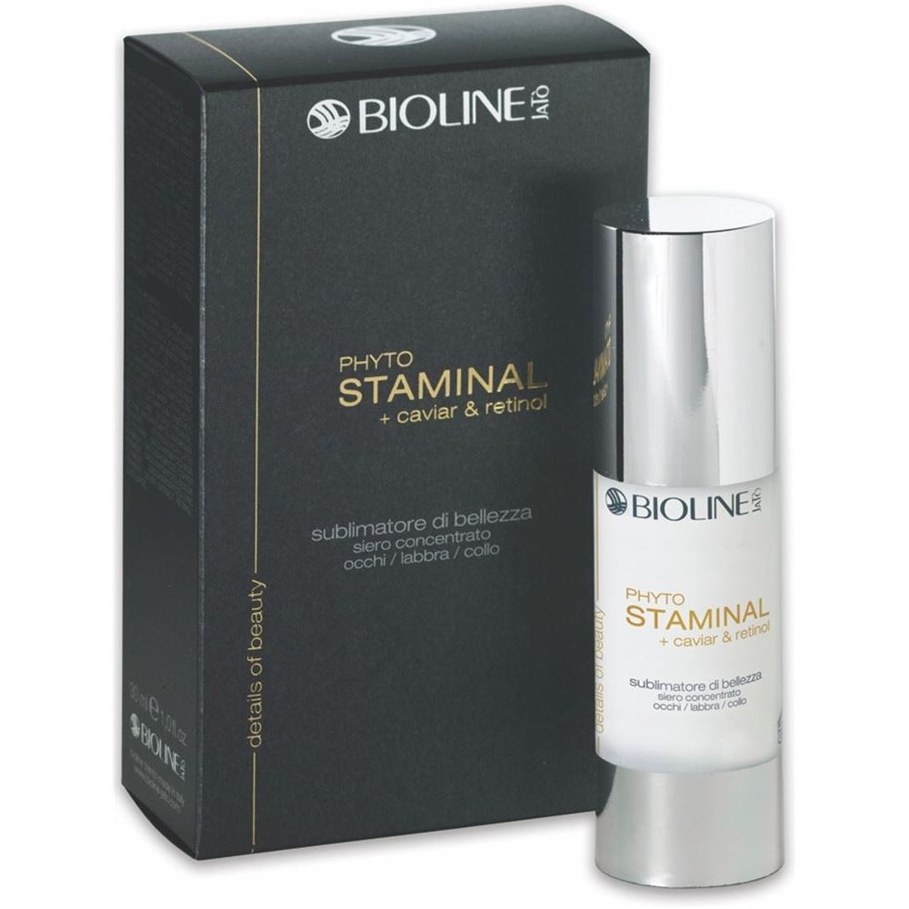 Сыворотка Bioline JaTo Phyto Staminal + Caviar & Retinol Beauty Enhancer Concentrate Serum Eye/Lip/Neck